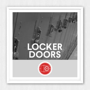 This is a collection of 5 different metal lockers opened closed banged and handled for all of those school hallway situations you\u0027ll come across. & Locker Doors | Sonniss.com