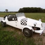 2CV Racing Car with Modified Engine