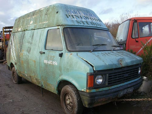 Rusty Old Van