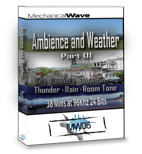 Ambience and weather