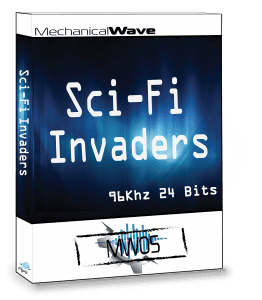 Sci-Fi Invaders Sound Effects Library