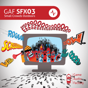 GAF SFX03 - Small Crowds Outdoors_Cover