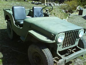 Willys Jeep 1945 Sound Library