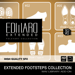 Edward – Foleyart Collection Add-On: Extended Footsteps