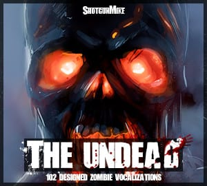 ShotgunMike - The Undead - Cover Artwork