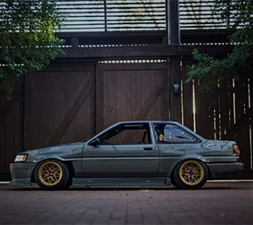 Toyota Corolla Modified Ae86 1986 Sound Effects Library