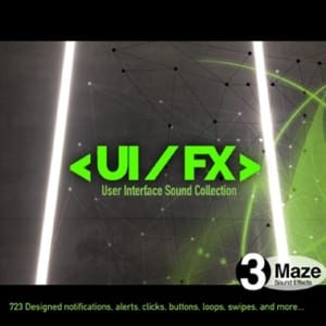 UI FX - Sound Effects Library